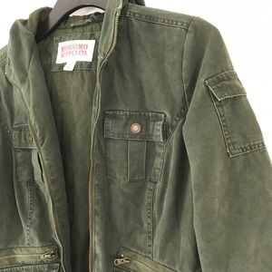 Utility Field Jacket Coat